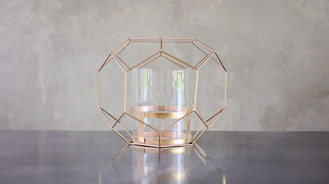 Hire Golden Wire Orbs Luxury Decor
