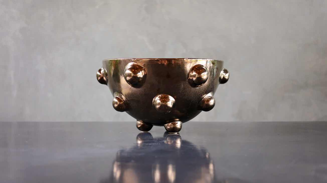 Hire Bronze Kelley Bowl Luxury Decor