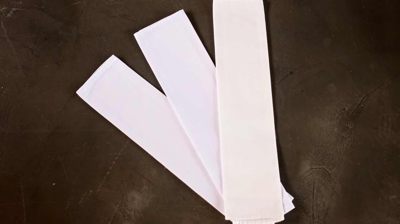 Hire White Linen Napkins Luxury Decor