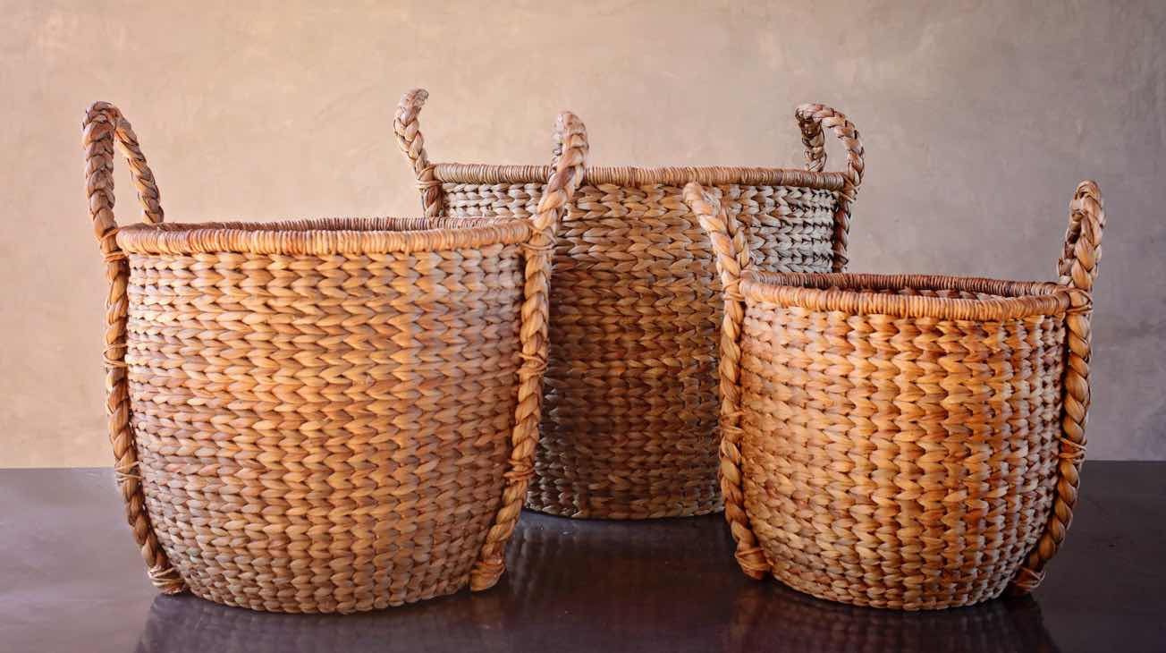 Hire Woven Baskets Luxury Decor