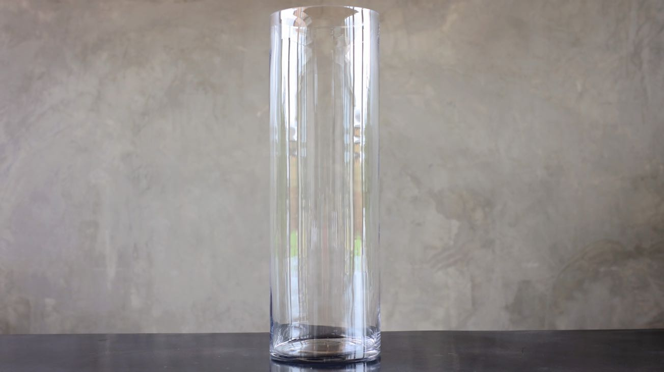 Hire Glass Cylinder Vase Luxury Decor