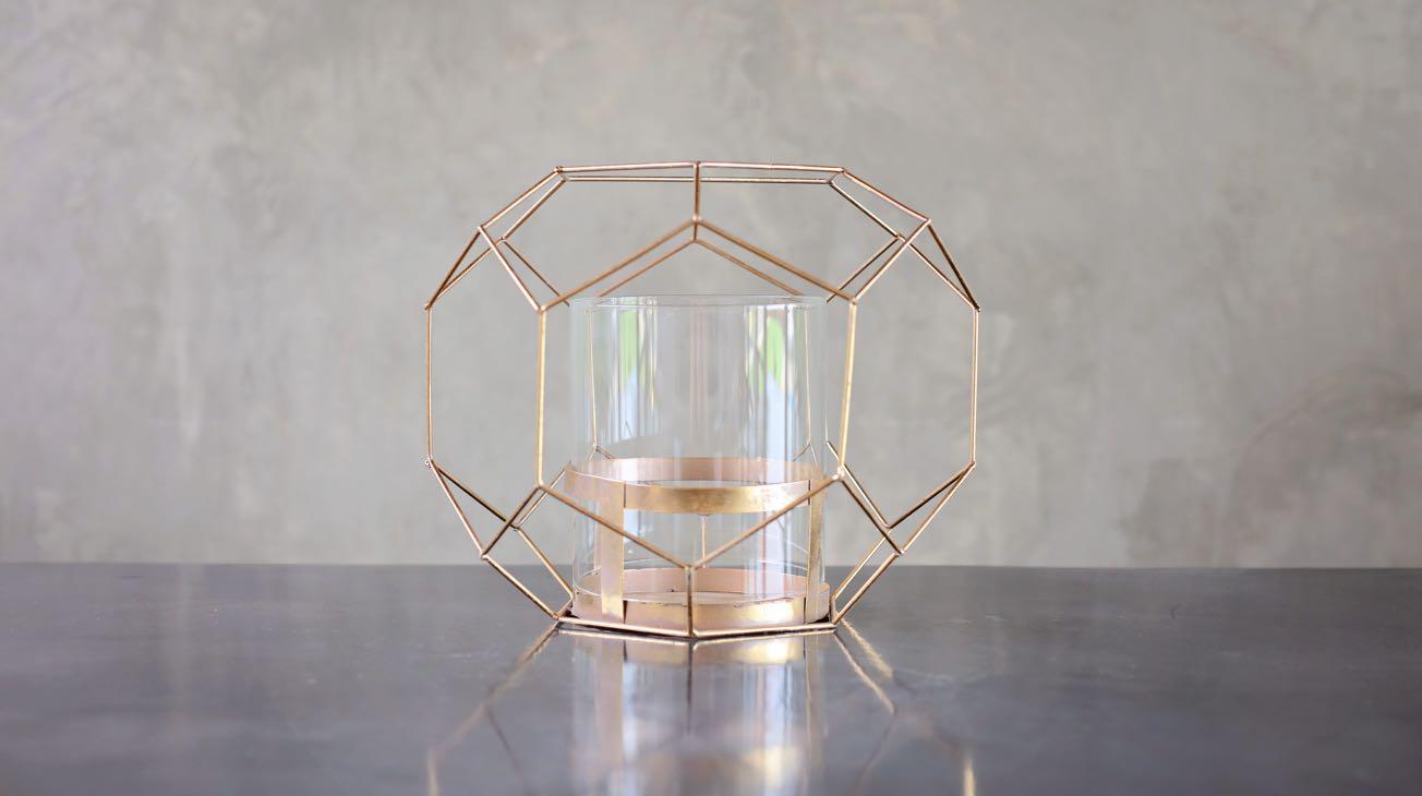 Hire Golden Wire Orbs Luxury Decor