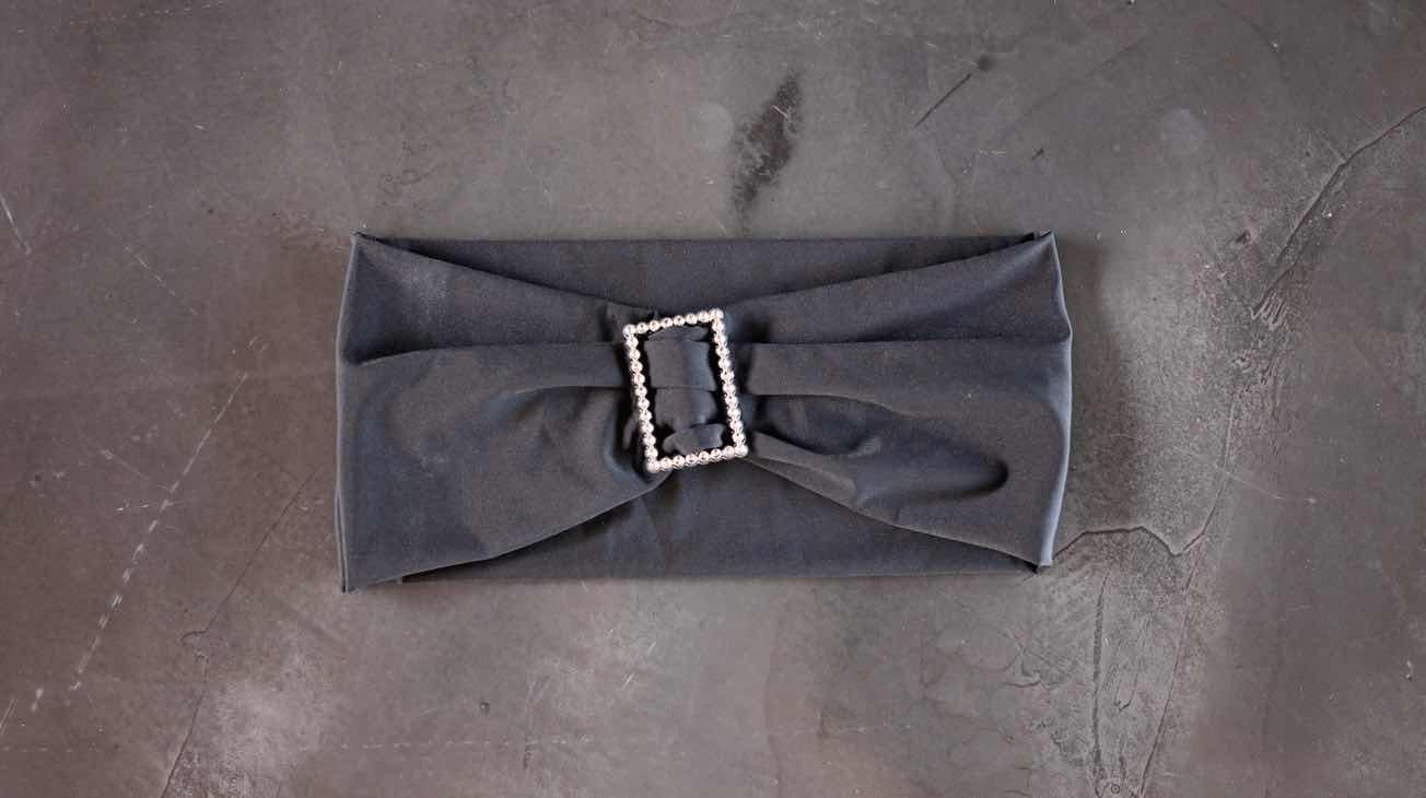 Hire Black Chair Tie Back Luxury Decor